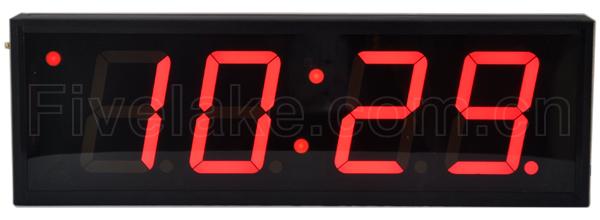 4-Digit Indoor Clock + Timer